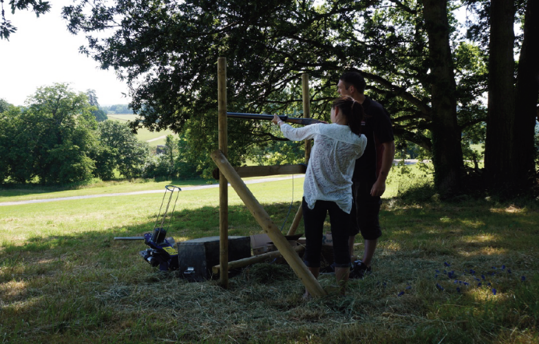 clay pigeon shooting activity