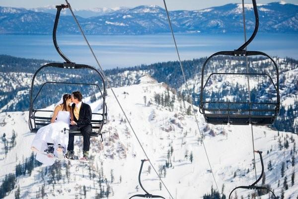 ski snow honeymoon
