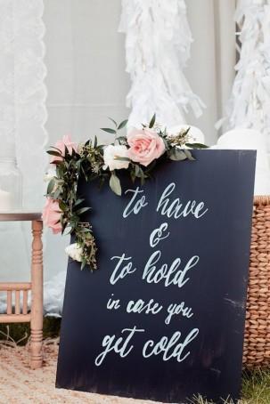 Winter weddings decoration